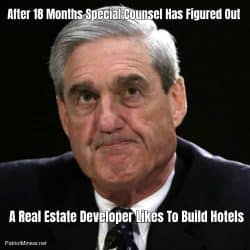 After 18 Months Special Counsel Has Figured Out A Real Estate Developer Likes To Build Hotels